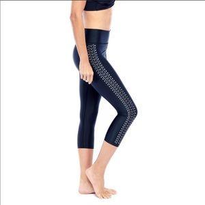Studded Capri Leggings SIZE XS